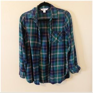 NEW Old Navy Tunic Shirt Flannel